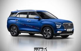 Hyundai Alcazar - Creta 3 hàng ghế chốt lịch ra mắt sớm trong tháng 4 đấu Honda CR-V, Toyota RAV4