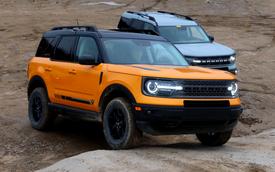 Đừng tin vào quảng cáo: Ford Bronco Sport quá tải khi off-road