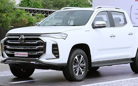 MG Extender - Bán tải mới có thể về Việt Nam cạnh tranh Ford Ranger