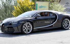 Chiếc Bugatti Chiron bí ẩn xuất hiện trên đường thử, liệu có phải bản facelift mà nhiều người mong chờ