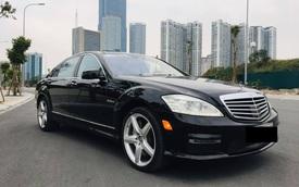 Hết thời, 'hàng khủng' Mercedes-Benz S 63 AMG mất giá rẻ ngang Toyota Camry dù chỉ chạy 8.000km/năm