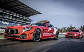 Ngắm bộ đôi Mercedes-AMG làm xe an toàn và xe y tế của giải đua F1