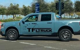 Đàn em Ranger - Ford Maverick bị bắt gặp trần trụi khi quay quảng cáo