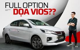 Đánh giá nhanh Mitsubishi Attrage 2021 vừa về đại lý: Dọa Vios bằng option và giá mềm