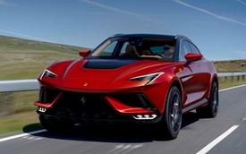 Xem trước siêu SUV Ferrari Purosangue - Gầm cao lọt vừa một xe Ferrari khác