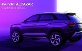 Lộ diện Hyundai Alcazar - SUV 7 chỗ hoàn toàn mới dễ hot khi về Việt Nam