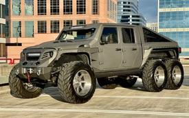 Siêu Jeep độ 6 bánh không kém cạnh Mẹc G63 AMG 6x6 chào bán với giá 'chỉ' 200.000 USD