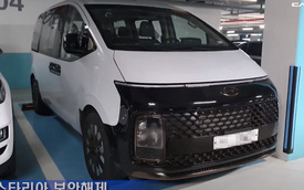 Hyundai Staria lần đầu lộ diện ngoài đời thực - MPV đấu Kia Sedona