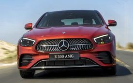 Mercedes-Benz E-Class 2021 giá từ 2,31 tỷ tại Việt Nam: Thiết kế như S-Class mới, phả hơi nóng lên BMW 5-Series