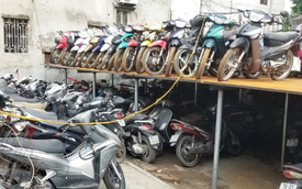 Nghĩa địa xe ở Hà Nội: Hàng nghìn chiếc chất lên nhau như sắt vụn, không biết bao giờ mới được thanh lý