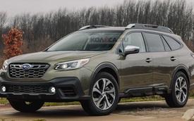 Subaru Outback đời mới chốt ngày ra mắt, về Việt Nam trong quý II/2021