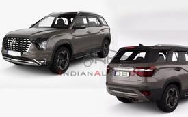 SUV 7 chỗ Hyundai Alcazar 'lộ hàng' trước ngày ra mắt chính thức: Đàn em Santa Fe mở phân khúc mới