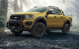 Ford Ranger Wildtrak mới lộ ảnh chạy thử, ra mắt đầu năm sau