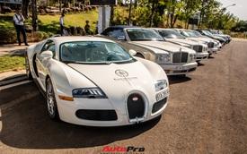 Ông Đặng Lê Nguyên Vũ mang Bugatti Veyron cùng dàn xe hơn trăm tỷ xuất hiện tại TP. Buôn Mê Thuột