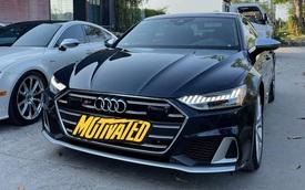 Audi S7 Sportback 2021 đầu tiên về Việt Nam: Xe chơi nước Đức giá không dưới 4 tỷ đồng