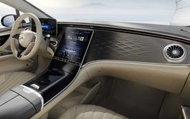 Mercedes EQS bản 'kém sang' công bố nội thất nhưng vẫn ngang S-Class