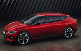 Xe Hàn bán chạy khủng khiếp là đây: Kia EV6 nhận 21.000 đơn chỉ trong 24h đầu mở bán