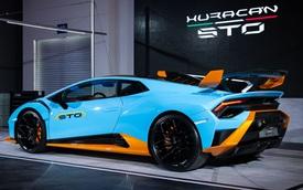 Doanh nhân kinh doanh lan đột biến mua Lamborghini Huracan phiên bản đua đầu tiên tại Việt Nam
