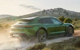 Ra mắt Porsche Taycan Cross Turismo - Xe thể thao không lo chật hẹp, giá quy đổi từ 2,1 tỷ đồng