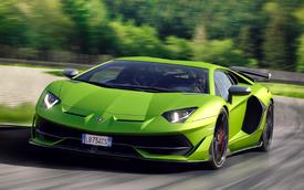 Triệu hồi xe: Lamborghini triệu hồi hơn 200 chiếc Aventador SVJ