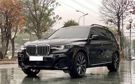 'Khủng long' BMW X7 hiếm hoi bán lại: Rẻ hơn Lexus LX 570 mới tới 2,2 tỷ đồng dù mới chạy 12.000km