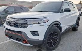 Ford Explorer phiên bản mới lộ hoàn chỉnh ngoại, nội thất - SUV nhà giàu ngày càng nổi bật