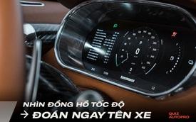 [Quiz] Thách đố tên xe khi chỉ nhìn bảng đồng hồ sau vô-lăng: Liệu bạn có đạt 10 điểm?