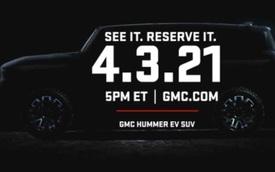 GM xác nhận SUV Hummer cho đại gia, ra mắt ngay đầu tháng 4