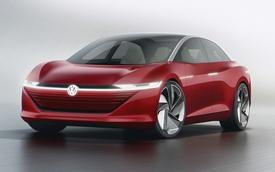 Volkswagen hé lộ siêu sedan sạc nhanh như đổ xăng, có thể tự lái cấp 4