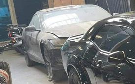 Xót xa hình ảnh Tesla Model S đầu tiên Việt Nam bị phủ bụi kín đặc sau 7 năm về nước