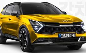 Phác hoạ Kia Sportage 2021: Chung khung gầm Hyundai Tucson nhưng khác biệt hoàn toàn