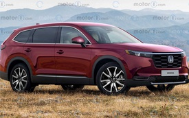 Xem trước Honda CR-V thế hệ mới: To, dài, rộng hơn hẳn, có thể có logo mới