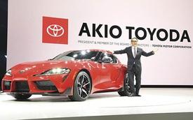 Chủ tịch Toyota nhận giải Nhân vật làng xe thế giới của năm 2021