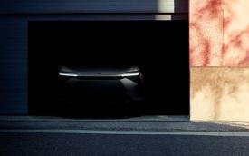 SUV điện Toyota lộ mặt trước ngày ra mắt hoàn chỉnh