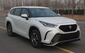 Toyota Crown phiên bản SUV lần đầu lộ diện: To hơn cả Highlander