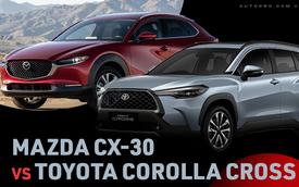 Cùng phân khúc, chờ Mazda CX-30 hay mua luôn Toyota Corolla Cross - Lựa chọn khó của người Việt