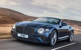 Ra mắt Bentley Continental GT Speed Convertible: Đóng/mở mui trong 19 giây, tăng tốc 0-100 km/h chậm hơn bản mui cứng 0,1 giây