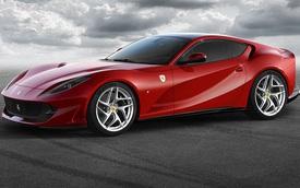 Ferrari 812 Superfast sẽ có bản đỉnh hơn, ra mắt ngay tháng sau, tên gọi vẫn chưa rõ