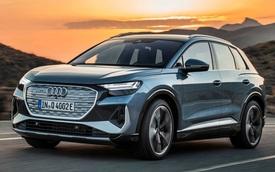 Ra mắt Audi Q4 E-Tron: Giá quy đổi dưới 1 tỷ cho người giàu mới nổi chơi SUV điện