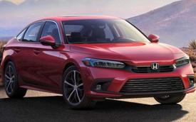 Honda Civic 2022 chính thức lộ diện trước giờ G: Long lanh như concept, đáp trả Kia Cerato mới xuất hiện