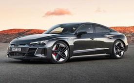 Audi chuẩn bị ra mắt mẫu xe mới đối đầu Porsche Taycan