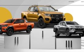 Trước khi chuyển sang lắp ráp, Ford Ranger lập đỉnh, nuốt trọn phân khúc và vượt Hyundai Accent lên top 1 thị trường