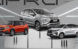 Suzuki XL7 bứt phá bám đuổi doanh số Mitsubishi Xpander, bỏ xa Toyota Innova