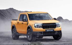 Xem trước Ford Maverick Raptor - Bán tải mini hiệu suất cao sẽ đe nẹt Hyundai Santa Cruz