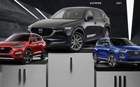 Cuộc đua SUV giá 1 tỷ gay cấn tại Việt Nam: CX-5, Tucson, Santa Fe bám đuổi, Sorento tụt hạng