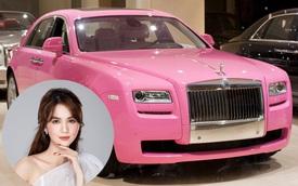 Ngọc Trinh mua Rolls-Royce Ghost Series I: Giá gần 10 tỷ đồng, mui xe màu hồng hiếm thấy ở Việt Nam