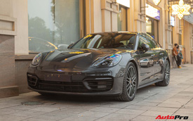 Hàng hiếm Porsche Panamera 2021 chính thức xuất hiện tại Việt Nam