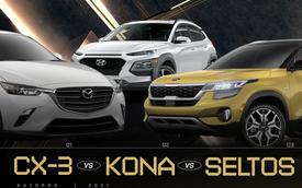 3 mẫu SUV cỡ B đáng mua nhất tại VN: Chọn Mazda CX-3 ngập công nghệ, hay quay đầu mua xe Hàn 'lái sướng'