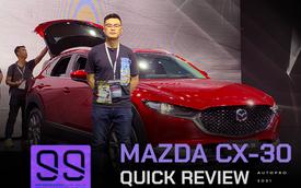 Đánh giá nhanh Mazda CX-30 tại Việt Nam: 2 phiên bản, giá cao nhất gần 900 triệu, đấu Toyota Corolla Cross