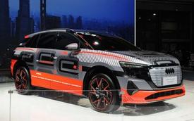 Audi giới thiệu SUV lạ còn không có tên gọi: Kích thước ngang E-Tron từng về Việt Nam, có thể là Q7 chạy điện